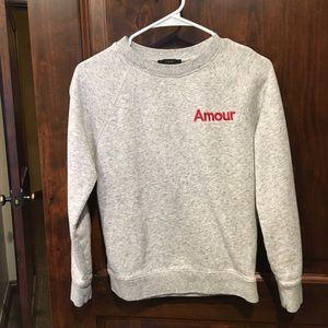 Jcrew Amour sweatshirt